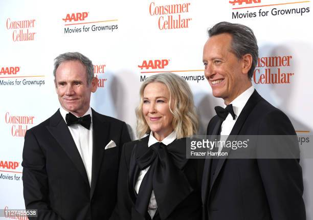 attends the 18th Annual AARP The Magazine's Movies For Grownups Awards at the Beverly Wilshire Four Seasons Hotel on February 04 2019 in Beverly...