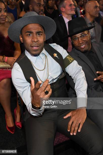MAJOR attends the 2017 Soul Train Awards presented by BET at the Orleans Arena on November 5 2017 in Las Vegas Nevada