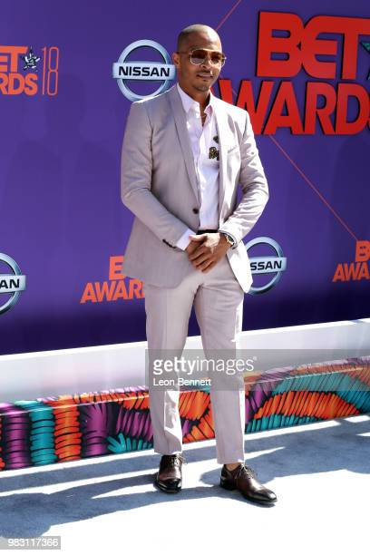 I attends the 2018 BET Awards at Microsoft Theater on June 24 2018 in Los Angeles California