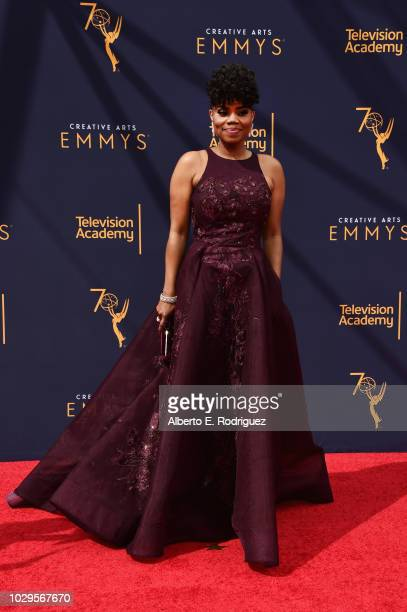 attends the 2018 Creative Arts Emmy Awards at Microsoft Theater on September 8 2018 in Los Angeles California