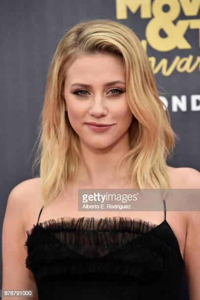 attends the 2018 MTV Movie And TV Awards at Barker Hangar on June 16 2018 in Santa Monica California