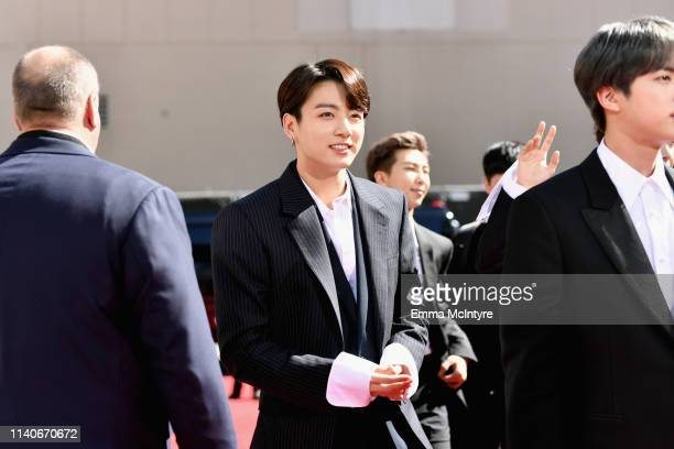 BTS attends the 2019 Billboard Music Awards at MGM Grand Garden Arena on May 1 2019 in Las Vegas Nevada