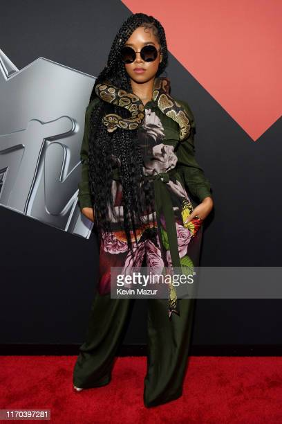 R attends the 2019 MTV Video Music Awards at Prudential Center on August 26 2019 in Newark New Jersey