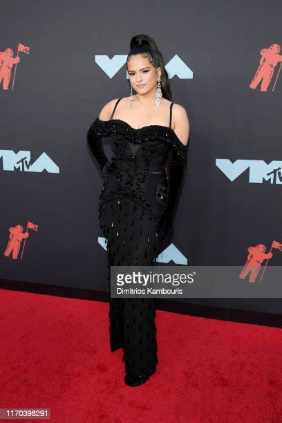 ROSALÍA attends the 2019 MTV Video Music Awards at Prudential Center on August 26 2019 in Newark New Jersey