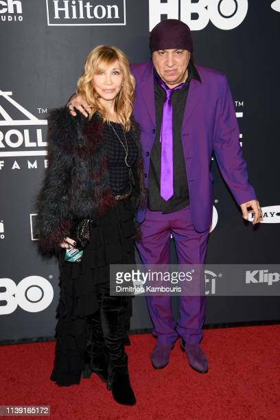 attends the 2019 Rock Roll Hall Of Fame Induction Ceremony at Barclays Center on March 29 2019 in New York City