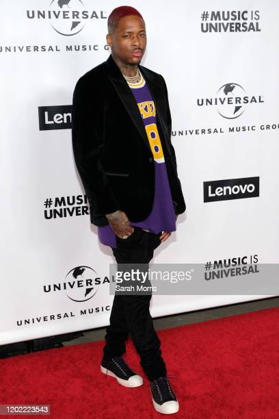 YG attends the 2020 Grammy after party hosted by Universal Music Group on January 26 2020 in Los Angeles California