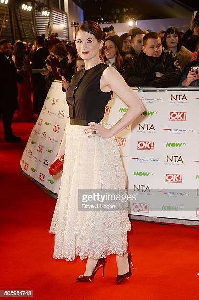 attends the 21st National Television Awards at The O2 Arena on January 20 2016 in London England