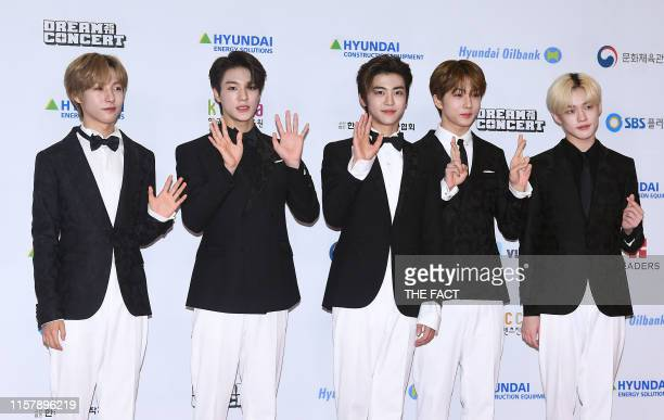 DREAM attends the 25th 2019 Dream Concert at Seoul World Cup Stadium on May 18 2019 in Seoul South Korea