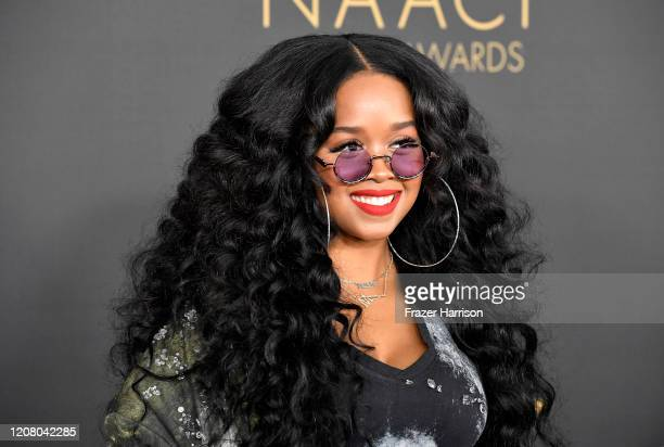 Attends the 51st NAACP Image Awards, Presented by BET, at Pasadena Civic Auditorium on February 22, 2020 in Pasadena, California.