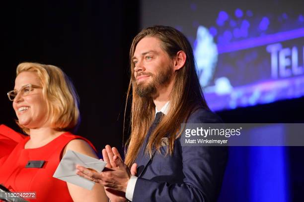 attends the 55th Annual Cinema Audio Society Awards at InterContinental Los Angeles Downtown on February 16 2019 in Los Angeles California