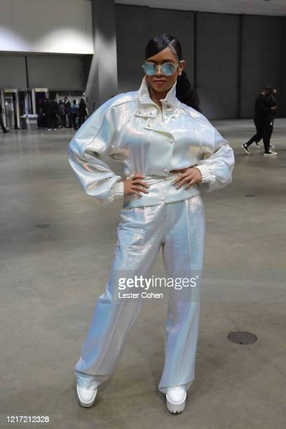 R attends the 62nd Annual GRAMMY Awards Let's Go Crazy The GRAMMY Salute To Prince on January 28 2020 in Los Angeles California