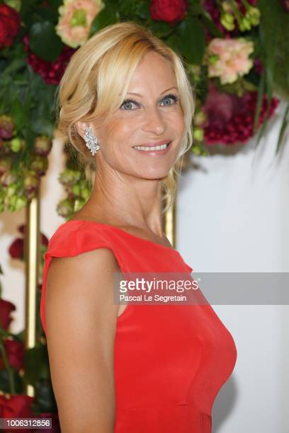 attends the 70th Monaco Red Cross Ball Gala on July 27 2018 in MonteCarlo Monaco