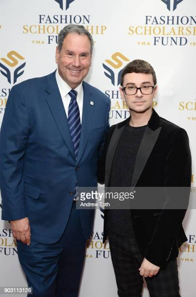 attends the 81st Annual YMA Fashion Scholarship Fund National Merit Scholarship Awards Dinner at Marriott Marquis Times Square on January 9 2018 in...