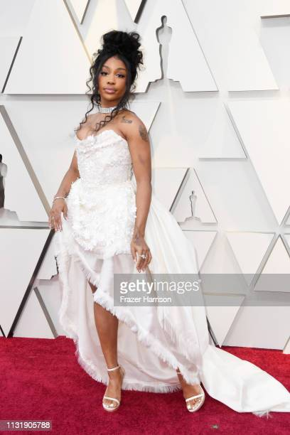 SZA attends the 91st Annual Academy Awards at Hollywood and Highland on February 24 2019 in Hollywood California