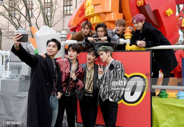 NCT 127 attends the 93rd Annual Macy's Thanksgiving Day Parade on November 28 2019 in New York City