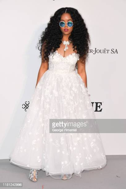 Attends the amfAR Cannes Gala 2019 at Hotel du Cap-Eden-Roc on May 23, 2019 in Cap d'Antibes, France.