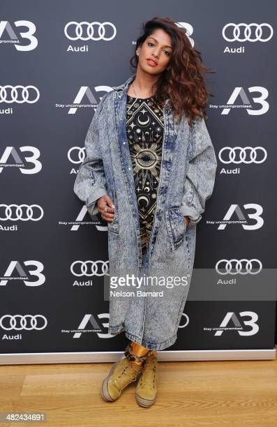 A attends the Audi A3 Launch Event with MIA on April 3 2014 at SIR Stage37 in New York City