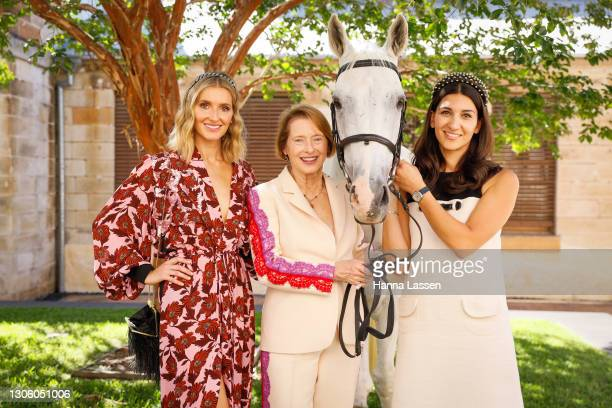 Attends the Autumn Racing Carnival media launch on March 09, 2021 in Sydney, Australia.