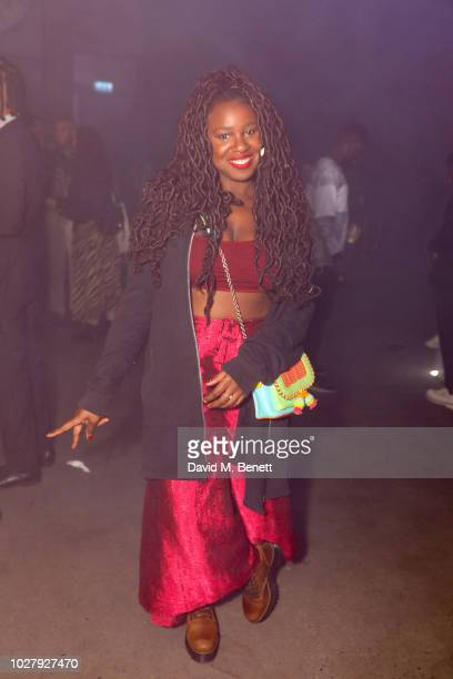 NAO attends the Axel Arigato launch at Village Underground on September 6 2018 in London England