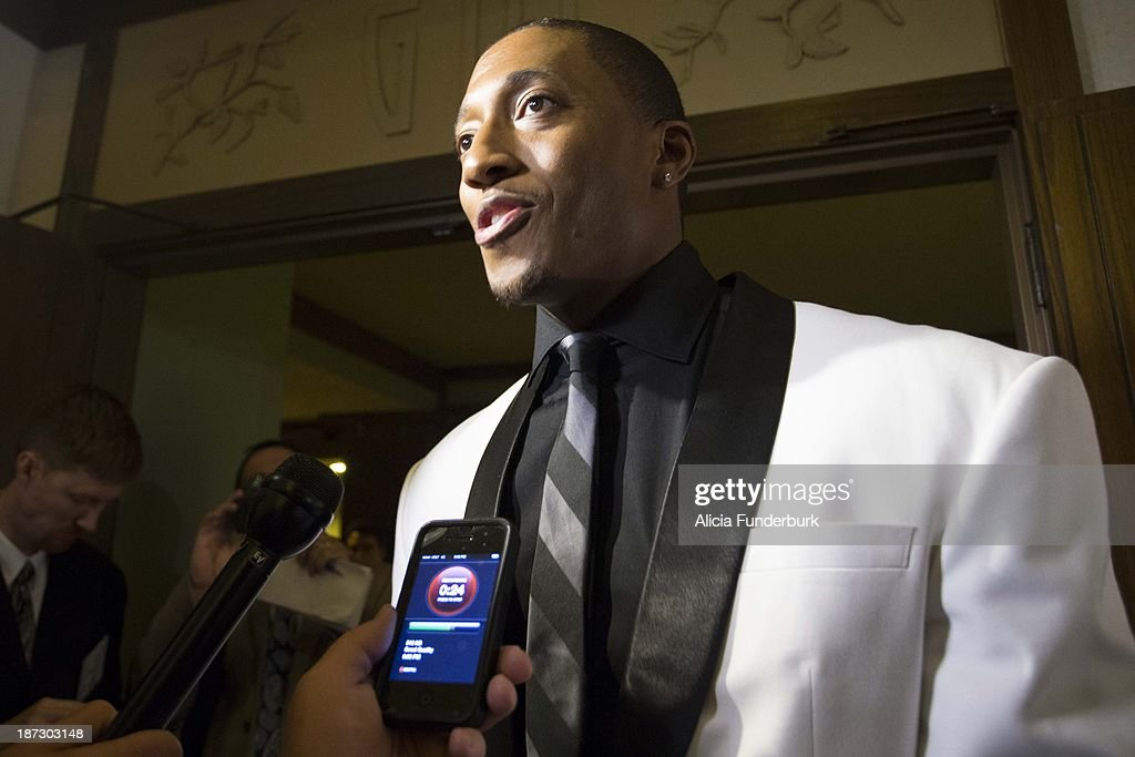 LECRAE attends the Billy Graham birthday party on November 7, 2013 in Asheville, United States.