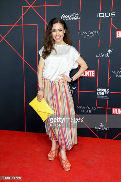 attends the Bunte New Faces Night at Father Graham on July 1 2019 in Berlin Germany