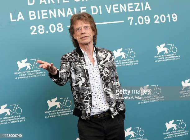"""Attends """"The Burnt Orange Heresy"""" photocall during the 76th Venice Film Festival at Sala Grande on September 07, 2019 in Venice, Italy."""