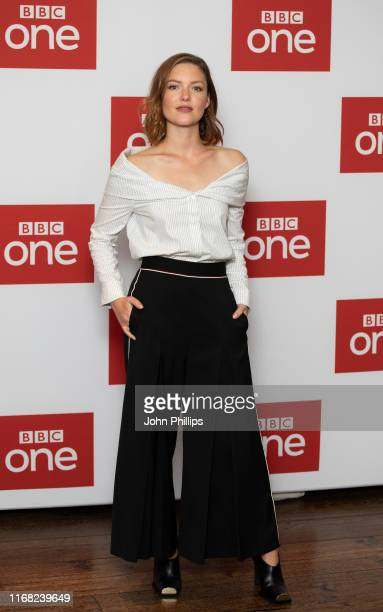 attends The Capture Photocall at The Soho Hotel on August 15 2019 in London England