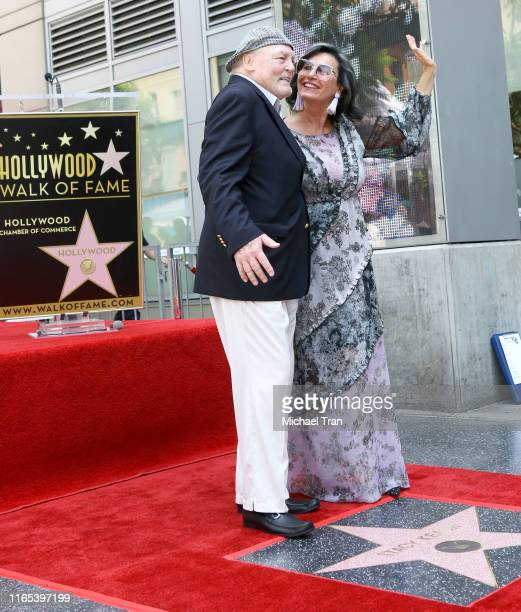attends the ceremony honoring Stacy Keach with a Star on The Hollywood Walk of Fame held on July 31 2019 in Hollywood California
