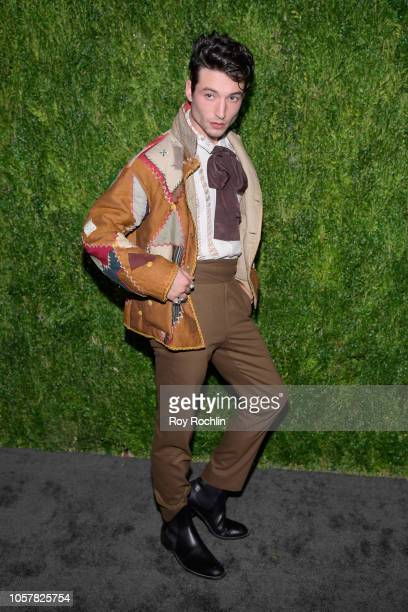 XXX attends the CFDA / Vogue Fashion Fund 15th Anniversary Event at Brooklyn Navy Yard on November 5 2018 in Brooklyn New York