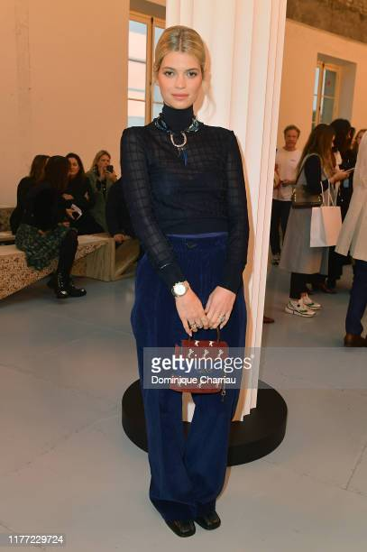 attends the Chloe Womenswear Spring/Summer 2020 show as part of Paris Fashion Week on September 26 2019 in Paris France