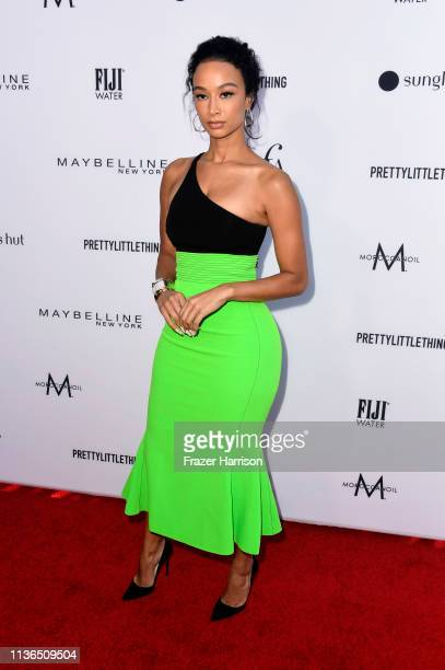 attends The Daily Front Row's 5th Annual Fashion Los Angeles Awards at Beverly Hills Hotel on March 17 2019 in Beverly Hills California