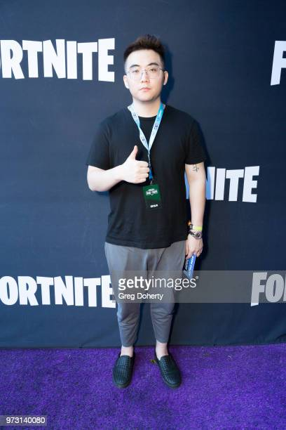 YT210 attends the Epic Games Hosts Fortnite Party Royale on June 12 2018 in Los Angeles California