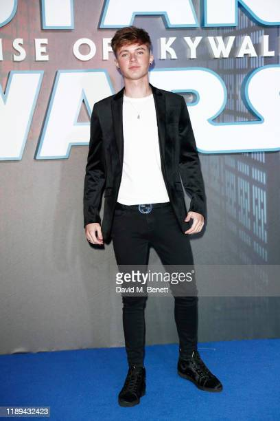 HRVY attends the European Premiere of Star Wars The Rise of Skywalker at Cineworld Leicester Square on December 18 2019 in London England