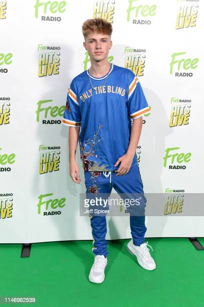 HRVY attends the Free Radio Hits Live at Arena Birmingham on May 04 2019 in Birmingham England