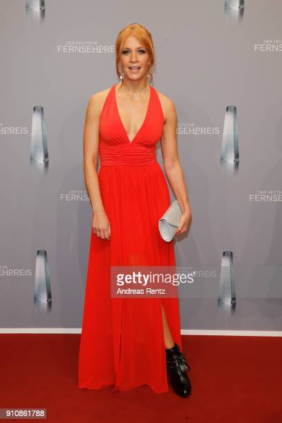 attends the German Television Award at Palladium on January 26 2018 in Cologne Germany