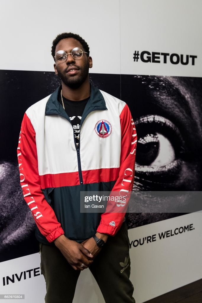 A2 attends the 'GET OUT' Special Screening at the Soho Hotel on March 13, 2017 in London, England.