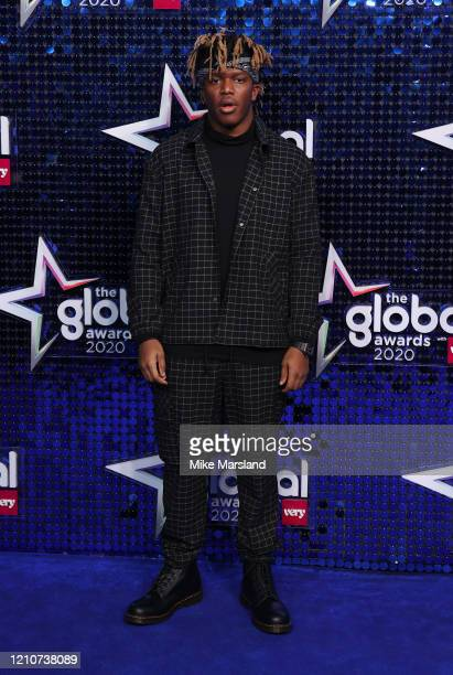 Attends The Global Awards 2020 at Eventim Apollo, Hammersmith on March 05, 2020 in London, England.
