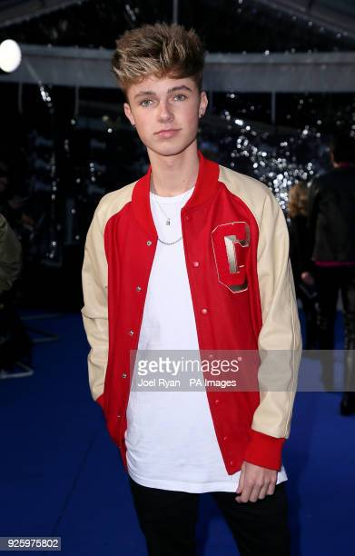 HRVY attends The Global Awards a brand new awards show hosted by Global the Media Entertainment groupat London's Eventim Apollo Hammersmith PRESS...