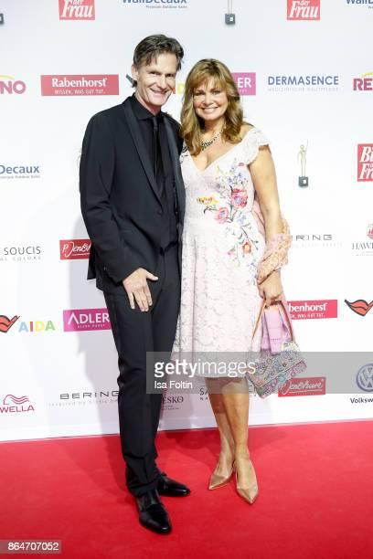 attends the 'Goldene Bild der Frau' award at Hamburg Cruise Center on October 21 2017 in Hamburg Germany