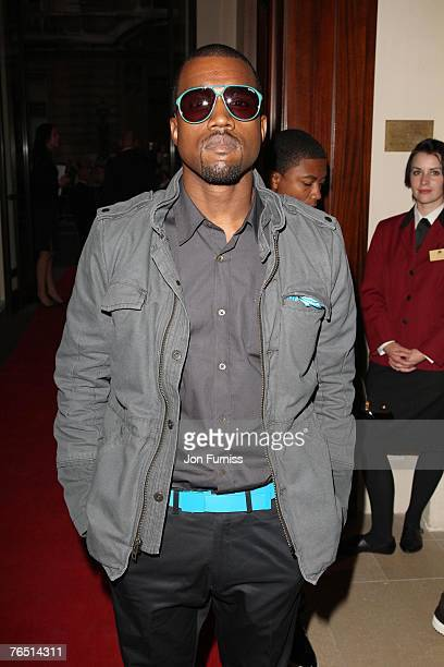 attends the GQ Men of the Year 10th Anniversary at the Royal Opera House on September 04 2007 in London