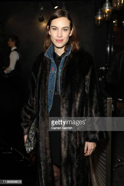 attends The Great Frog Store launch event on March 19 2019 in London England