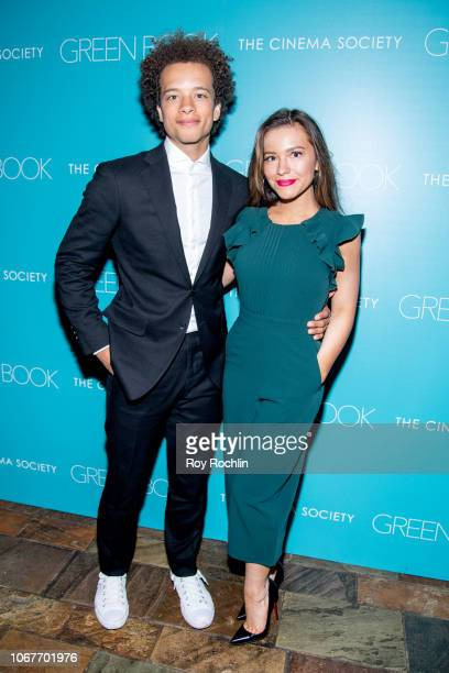 attends the Green Book New York Special Screening hosted by the Cinema Society at The Roxy Hotel Cinema on November 14 2018 in New York City