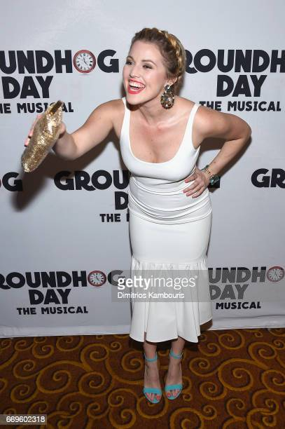 attends the Groundhog Day Broadway Opening Night at Gotham Hall on April 17 2017 in New York City