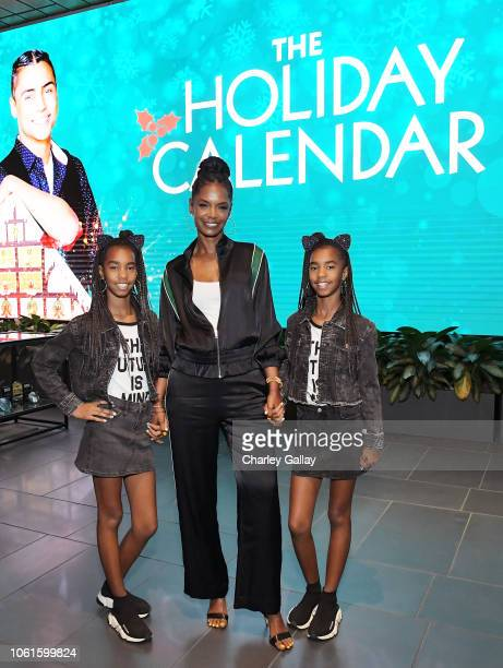 attends The Holiday Calendar Special Screening Los Angeles at NETFLIX Icon Building on October 30 2018 in Los Angeles California