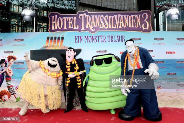 attends the 'Hotel Transsilvanien 3' premiere at CineStar on July 8 2018 in Berlin Germany