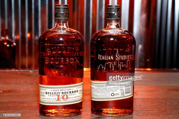 Attends the Italian Studies after party at The Battery Hosted By Bulleit Frontier Whiskey during the 2021 Tribeca Festival on Saturday, June 12, 2021...