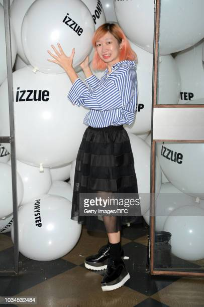 attends the Izzue X Ponystep LFW Party Mavis Lo during London Fashion Week September 2018 on September 16 2018 in London England