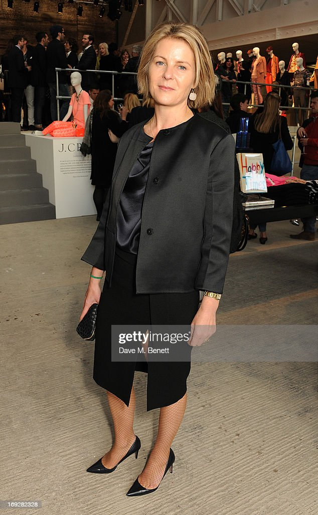 attends the J.Crew concept store to launch their partnership with Central Saint Martins College Of Arts And Design at The Stables on May 22, 2013 in London, England.
