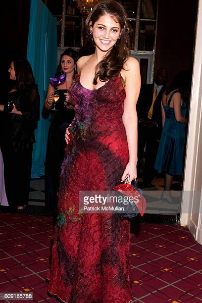 attends The Jewish Museum's Masked Ball in Celebration of Purim at Waldorf Astoria on February 27 2007 in New York City