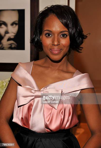 attends the Kara Ross NY Oscar Collection Cocktail Party at the Sunset Tower Hotel on February 21 2008 in Los Angeles California